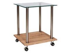 Журнальный столик на колесах Pina