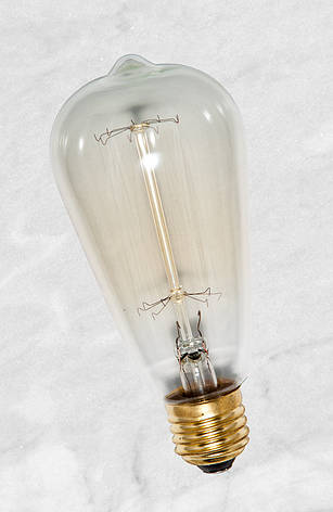 Лампа Эдисона ST64 40W, фото 2