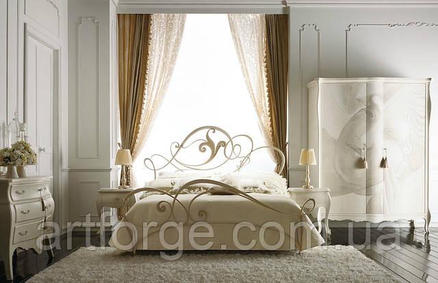 Кованые кровати. Кровать ИК 009