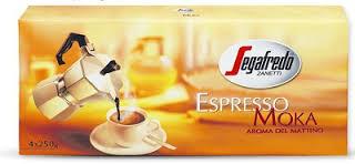 Кофе натуральный молотый Segafredo Espresso Moka Quattro 1 кг.