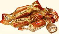 Шоколадная конфета Тирамису Рот Фронт с начинкой