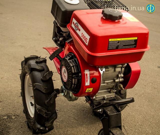 Бензиновый двигатель мотоблока Победит 500Б фото 2