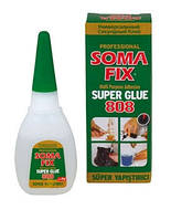 Клей SOMA FIX супер клей, 20 гр 808