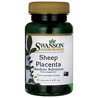 Плацента Овечья, 400 мг. 60 капсул