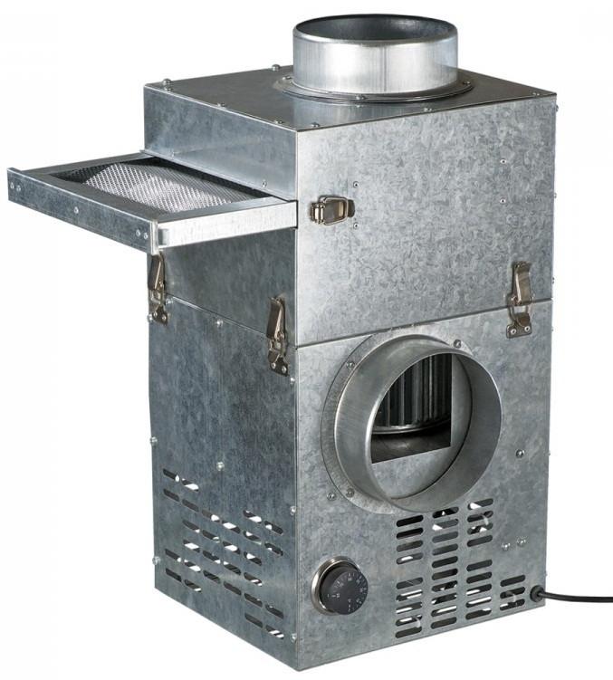 ВЕНТС КАМ 125 ЭкоДуо (ФФК) - каминный вентилятор