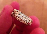 Золотое кольцо с бриллиантами Baraka Цена снижена