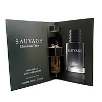 Парфюмерное масло с феромонами Christian Dior Sauvage (Кристиан Диор Саваж) 5 мл. Без спирта!