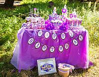 Детский  Кенди бар (Candy Bar) Принцесса София, фото 1