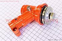 Редуктор нижний 26 мм на 4Т квадрат крепления ножа - болт  для мотокосы