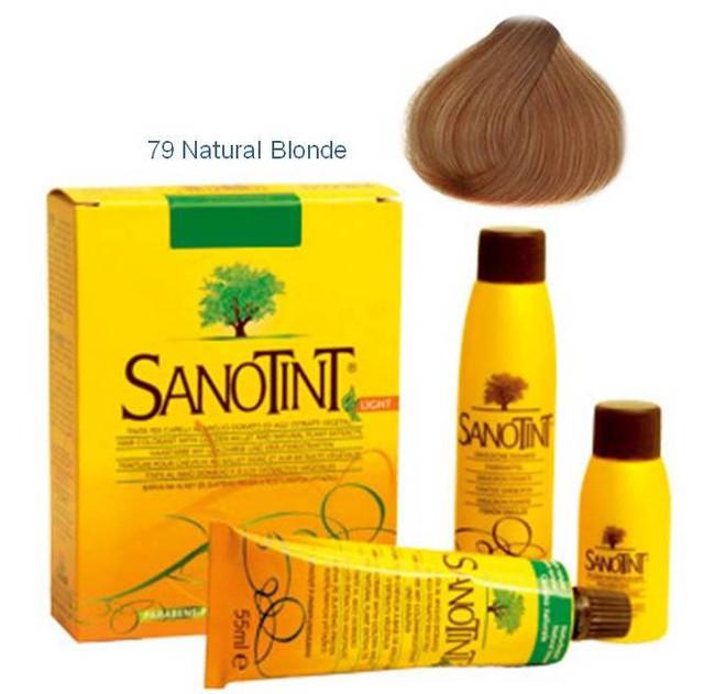 С 79 натуральный русый краска для волос СаноТинт, Вивасан