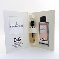 Парфюмерное масло с феромонами Dolce & Gabbana 3 L`Imperatrice (Дольче Габана Императрица) 5 мл. Без спирта!