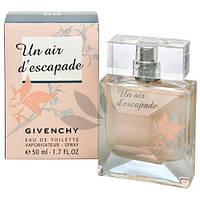 Женская туалетная вода Givenchy Un Air d'Escapade (Живанши Ун Аир деЭскапад)
