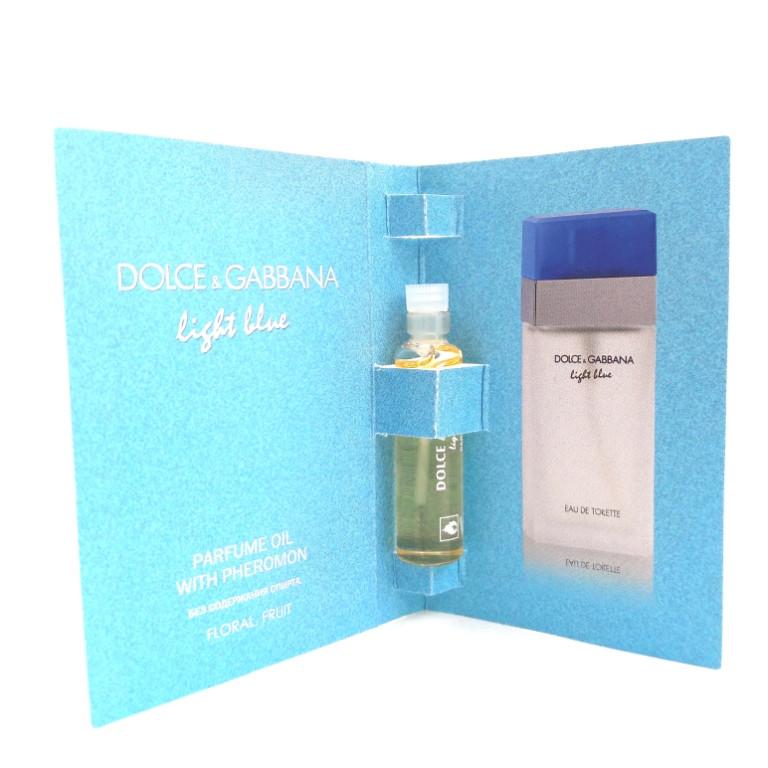 Парфюмерное масло с феромонами Dolce & Gabbana Light Blue (Дольче Габана Лайт Блу) 5 мл. Без спирта! - ONE-Parfum - интернет-магазин парфюмерии и косметики в Киеве
