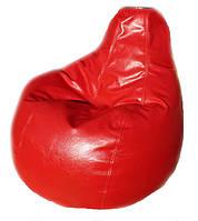 Бескаркасное кресло-пуфик мешок груша пуф