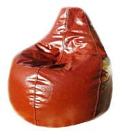 Бескаркасное кресло мешок груша пуф мягкая мебель, фото 1