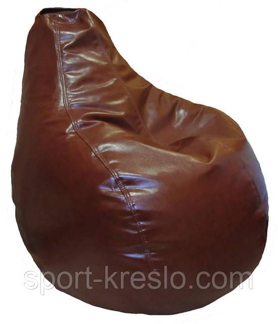 Кресло бескаркасное мягкое мешок груша-пуф для детей