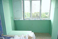 Обшивка балкона гипсокартоном фото