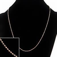 Цепочка на шею Xuping, плетение Шарик, цвет металла золото