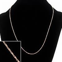 Цепочка на шею Xuping, плетение Панцырь, цвет металла золото