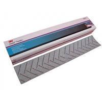 3М™30621 - Абразивная полоса пурпурная 734U Hookit™ Purple+ мультидырочная, 70мм х 396мм, Р120