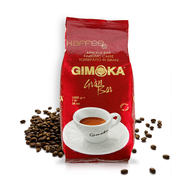 Італійська кава в зернах Gimoka Gran Bar 1 кг.