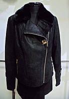 Куртка кожаная косуха,воротник бобер съемный длина 60см 46р-48р 52р-54р-5500грн 56р 58р 60р-6000
