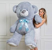 🌟🌟❤️Мишка плюшевый Томас цвет серый 185 см