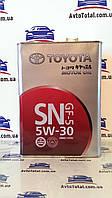 Масло моторное TOYOTA Motor Oil 5W-30 SN GF-5 (08880-10705), 4 л
