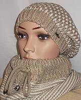 Хомут женский(имитация свитера).Полушерсть