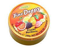 Льодяники Fine Drops Woogie зі смаком фруктове асорті, 200 гр