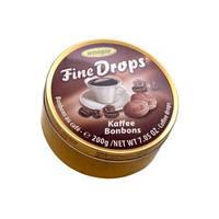 Леденцы Fine Drops Woogie со вкусом кофе, 200 гр