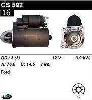 Стартер Ford Escort Fiesta Orion 1.0  1.1  1.3  1.4  1.6 /0, 9кВт z10/ CS592
