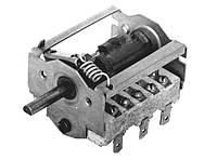 ПМЭ 07 - Керамический встраиваемый 7-ступенчатый поворотный переключатель мощности, 250В, 16А, Т150°C, Украина
