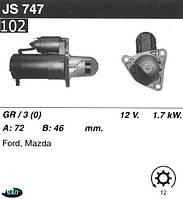Стартер Mazda Xedos 9  Xedos 6  323 F V  626 IV  MX-3  MX-6  JS747