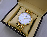 Стальные часы RADO Jubile - high-tech, цвет циферблата белый, золотистый цвет, черные