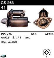 Стартер Opel Ascona Kadett Record 1.6  1.8  /0, 8кВт z9/  CS263, фото 1