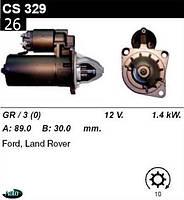 Стартер Ford Sierra Scopio 1.6  1.8  2.0i /1, 4кВт z10/ CS329, фото 1