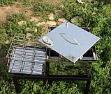 Коптильня из нержавеющей стали (300х300х200) с термометром, фото 2