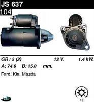 Стартер Mazda 323 F 626  MX-6 KIA JS637, фото 1