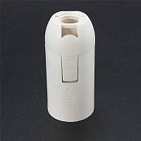 Патрон пластиковий [ White ] Е-14, фото 1