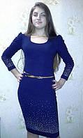 Вечернее платье с пояском
