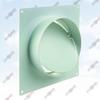 ФОТО: Соединитель с обратным клапаном и настенной пластиной для круглых каналов