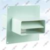 ФОТО: Соединитель плоских каналов с настеной пластиной и обратным клапаном