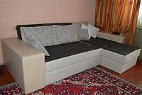Диван угловой раскладной на пружинном блоке для ежедневного сна, фото 1
