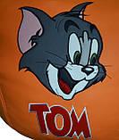 Детское Кресло-пуф мешок груша мягкая Том и Джерри, фото 2