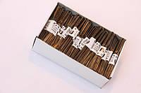 Шпильки  коричневые 70 мм 0.5 кг Bohema