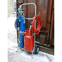 Комплект пропано-кислородной резки и пайки (пост газосварщика) №2 средний