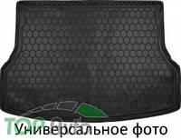 Avto Gumm Резиновый коврик в багажник HYUNDAI Santa-Fe 2015- (7 мест) BASE