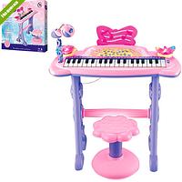 Детское пианино-синтезатор 6613 со стульчиком ***