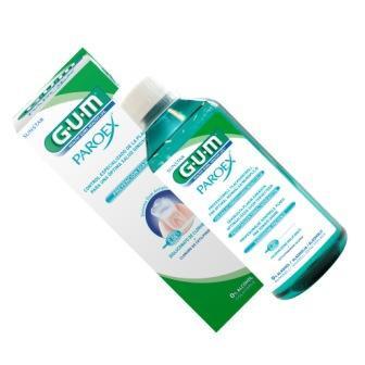 GUM® Paroex® - средство для полоскания полости рта при заболеваниях десен
